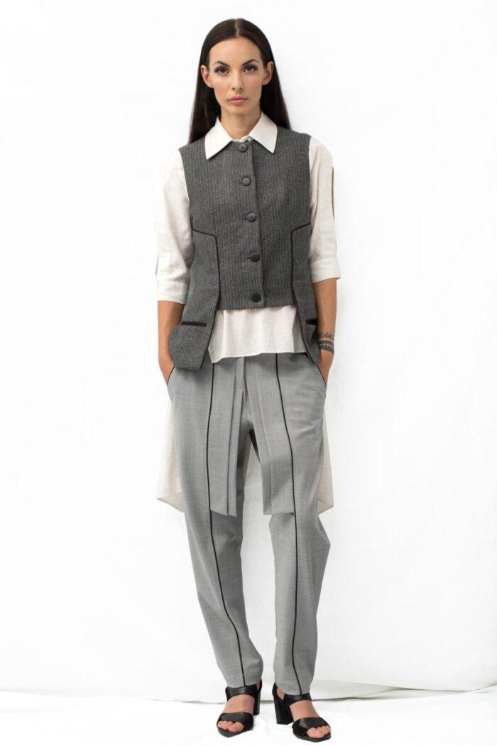 short waistcoat