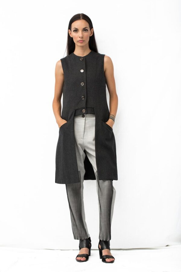Front Insert tulle Pants