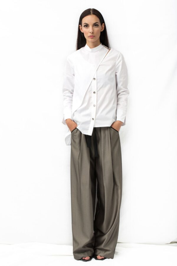 Assymetric shirt