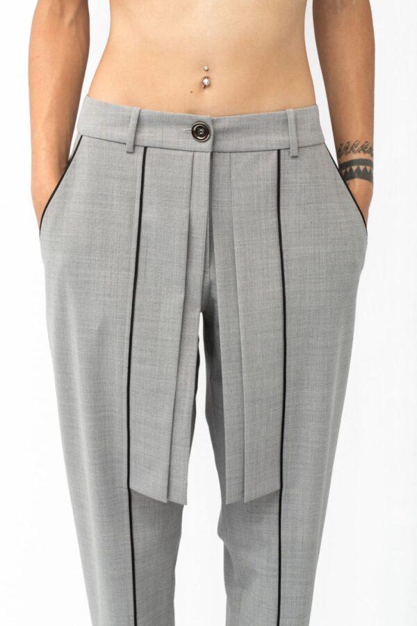 Origami pants close up