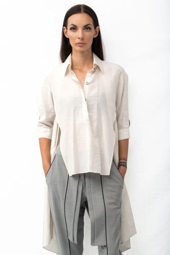 multislit shirt