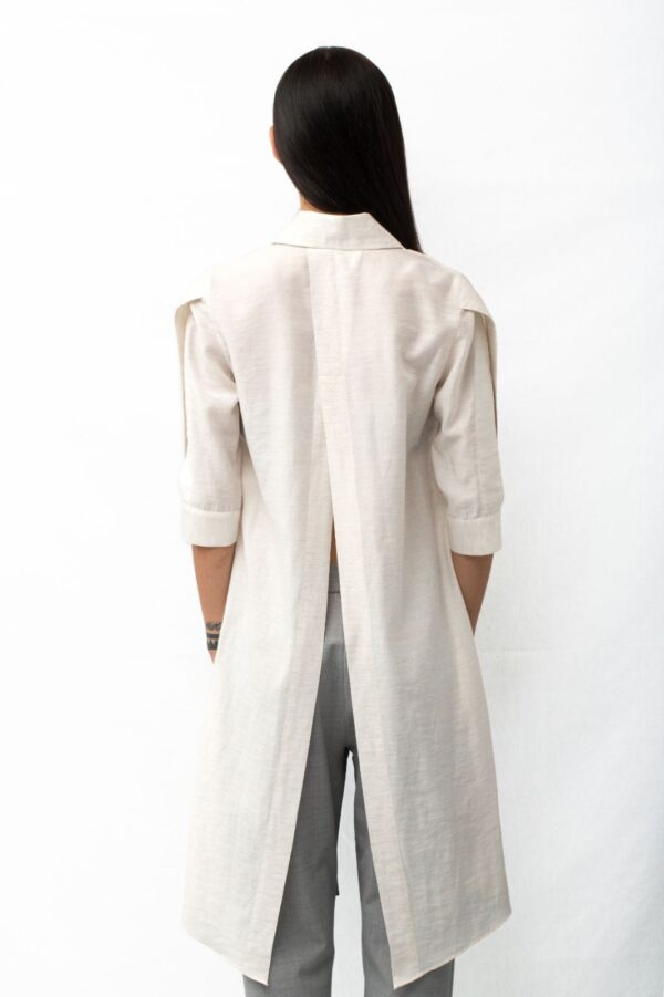 multislit shirt back
