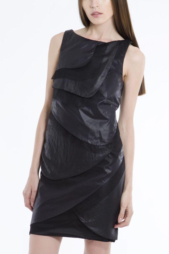 multilayered dress