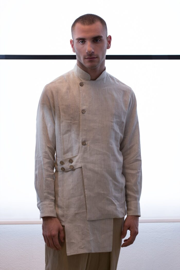 multilayered mans shirt
