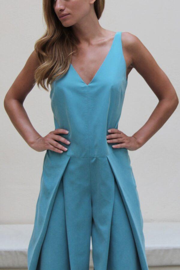 front folded jumpsuit