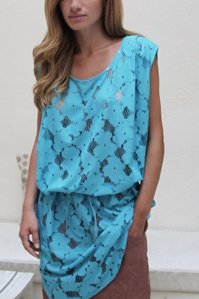 lace box dress