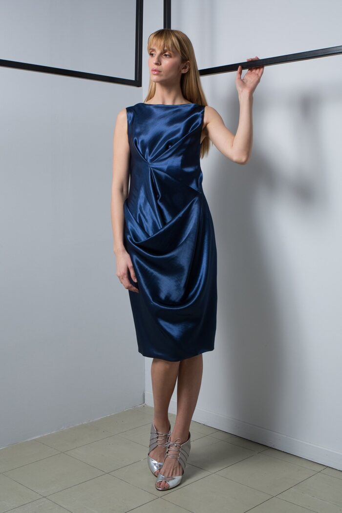 multidraped dress